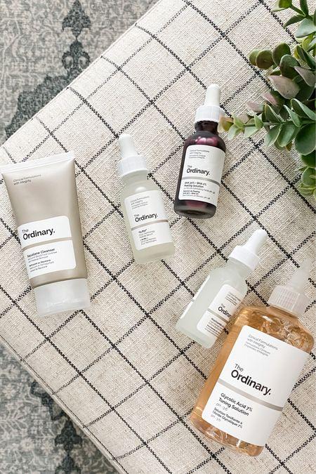 Five must have face products under $50. Ulta The Ordinary skin care regimen. Inexpensive quality skincare.    http://liketk.it/3cYOL #liketkit @liketoknow.it #LTKunder50 #LTKbeauty @liketoknow.it.home