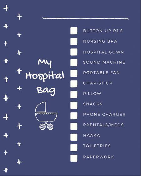 Hospital bag essentials. http://liketk.it/3eYkL #liketkit @liketoknow.it #LTKbaby #LTKbump #LTKunder50