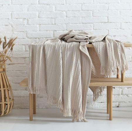 This huge cozy waffle throw comes in 5 perfect colors 😍    #LTKhome #LTKunder50 #LTKstyletip