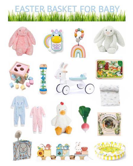 #LTKbaby #LTKspring http://liketk.it/2MikV #liketkit @liketoknow.it Easter Basket Stuffers for Baby #LTKSeasonal