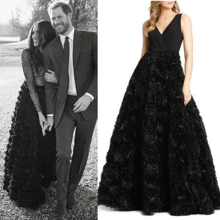 Meghan wearing Ralph & Russo #gown #ballgown #glam   #LTKeurope #LTKstyletip