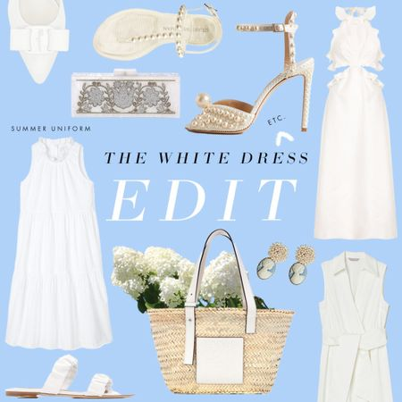 We've updated our white dress edit with shoes, accessories, and more favorites!   #LTKbaby #LTKSeasonal #LTKunder100