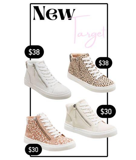 New high top sneakers at target!   #LTKshoecrush #LTKunder50