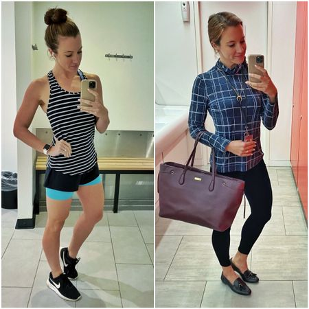 From the gym to the office - just a normal morning!   #LTKeurope #LTKfit