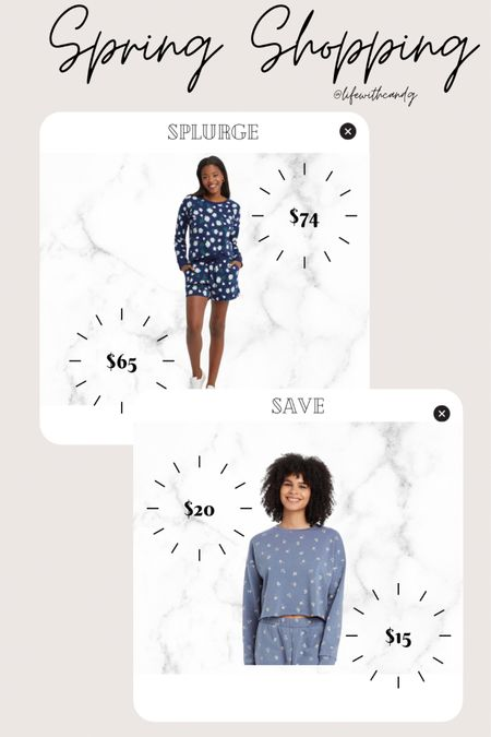Loungewear. Floral sweatshirt and shorts pajamas lounge wear. Draper James dupe. Colsie. Target finds.    http://liketk.it/3dnjh #liketkit @liketoknow.it #LTKunder50 #LTKstyletip