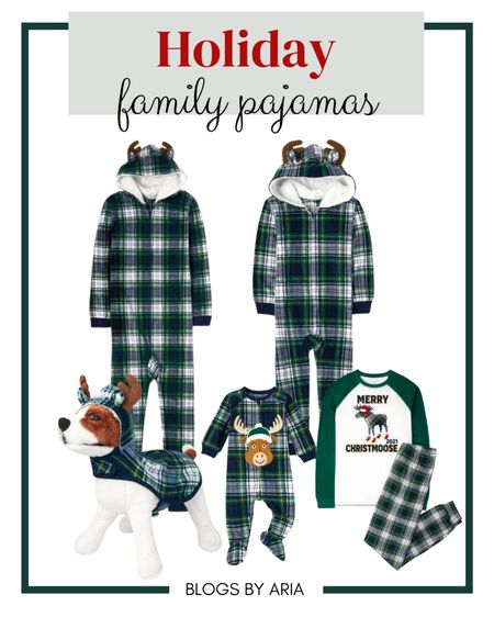 Holiday matching family pajamas. Now is the time to buy when all sizes are available and they're on sale too!  Christmas pajamas Christmas PJs #LTKkids #LTKmens #LTKbaby   #LTKfamily #LTKSeasonal #LTKHoliday
