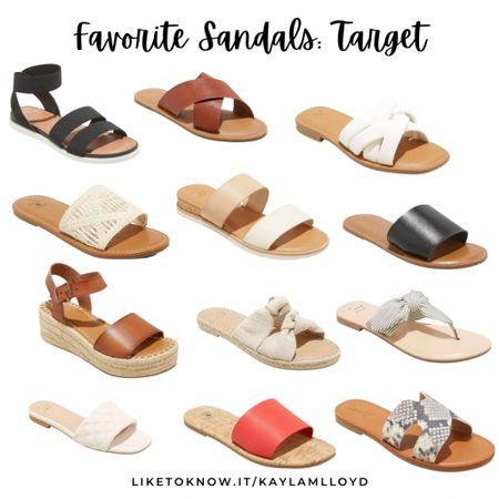 The cutest sandals from Target! http://liketk.it/3fCPB @liketoknow.it #liketkit #LTKunder100 #LTKunder50 #LTKshoecrush