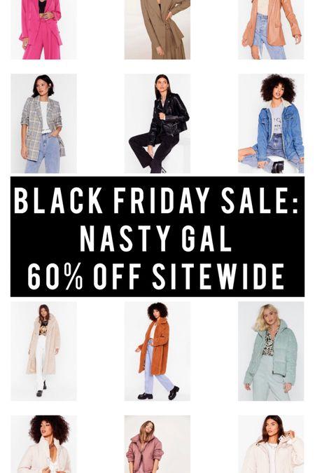 Black Friday Sale - Nasty Gal - Jacket & Coat Faves - 60% off sitewide! http://liketk.it/32kld #liketkit @liketoknow.it #LTKgiftspo #LTKunder100 #LTKsalealert