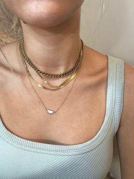 TikTok question necklaces  #LTKunder100 #LTKstyletip #LTKsalealert