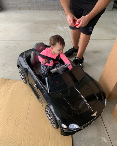 Baby Bentley. Bentley kids car. Toddler car. Baby car with remote. Amazon finds. First birthday gift. Baby girl gift. Amazon finds. Baby's first birthday. @liketoknow.it @liketoknow.it.family http://liketk.it/3gubB #liketkit #LTKbaby #LTKfamily #LTKkids