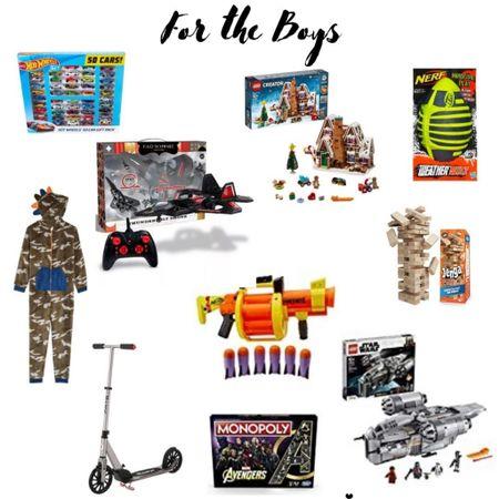 Gift Guide for the boys!  #LTKgiftspo #LTKunder100 #LTKfamily