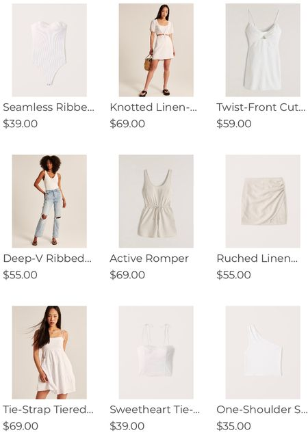 All white everything in time for summer @abercrombie! Here are some of my favorite all white finds!!!  20% off when you shop through the LTK app for #ltkday! http://liketk.it/3hvZb #liketkit @liketoknow.it @liketoknow.it.family Shop your screenshot of this pic with the LIKEtoKNOW.it shopping app    #LTKunder100 #LTKsalealert #LTKSeasonal