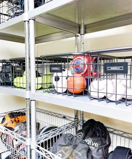 garage shelf and bin sorting!  Garage Makeover   Garage Storage Ideas   Garage Design   Garage Storage   Garage Organization Ideas   Garage Organization   Clean Out   Tips   Garage Conversion   Garage Conversion Ideas  #LTKhome #LTKfamily #LTKbacktoschool