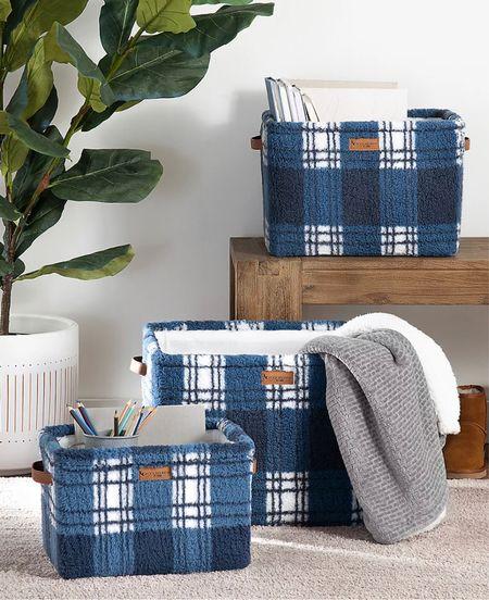 Get organized in the new year with these cozy storage baskets   #LTKunder50 #LTKNewYear #LTKhome