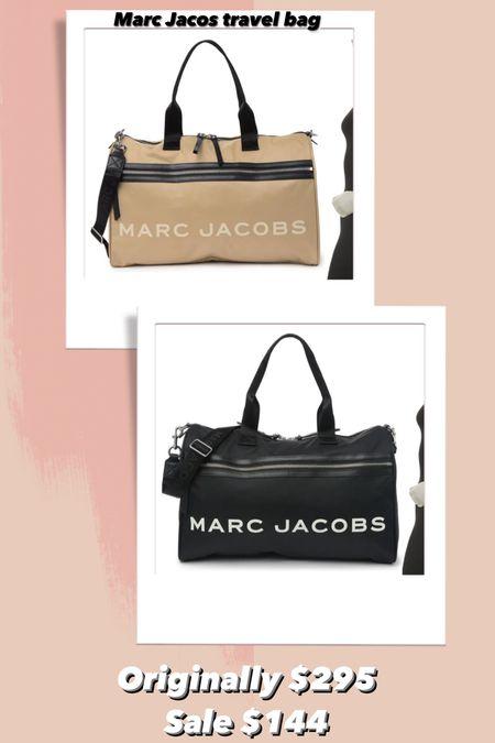 Marc Jacob's travel luggage 50% off!   #LTKitbag #LTKsalealert