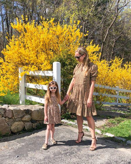 Mommy and me leopard on this beautiful spring day. Happy #matchingmonday! http://liketk.it/3djF4 @liketoknow.it @liketoknow.it.family #liketkit #LTKfamily #LTKshoecrush #LTKkids