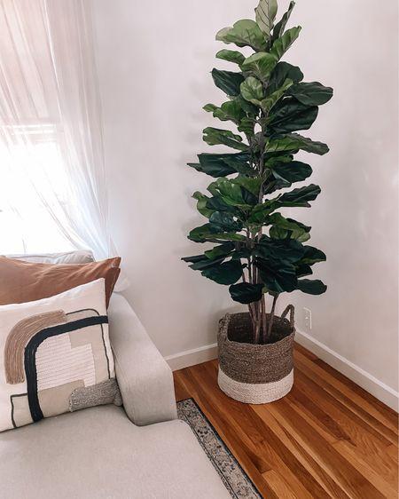 Amazon faux tree  Amazon pillows  Amazon home finds amazon home #LTKhome #LTKunder100 #LTKunder50 http://liketk.it/3axCu #liketkit @liketoknow.it