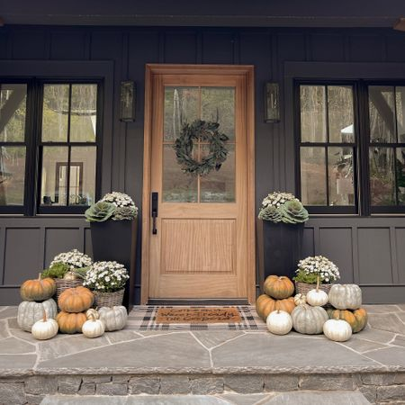 Fall front porch.   #LTKhome