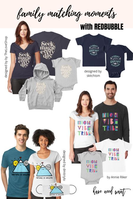 Family matching moments with Redbubble!   #LTKfamily #LTKkids #LTKmens