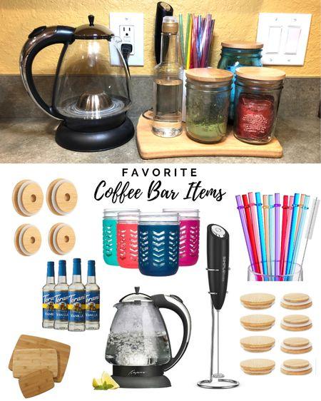 Favorite Amazon coffee and tea bar items  #LTKfamily #LTKhome #LTKstyletip