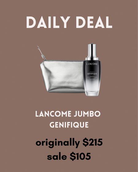 Crazy deal on this Lancôme JUMBO genifique! Ends today!!!   #LTKbeauty #LTKsalealert