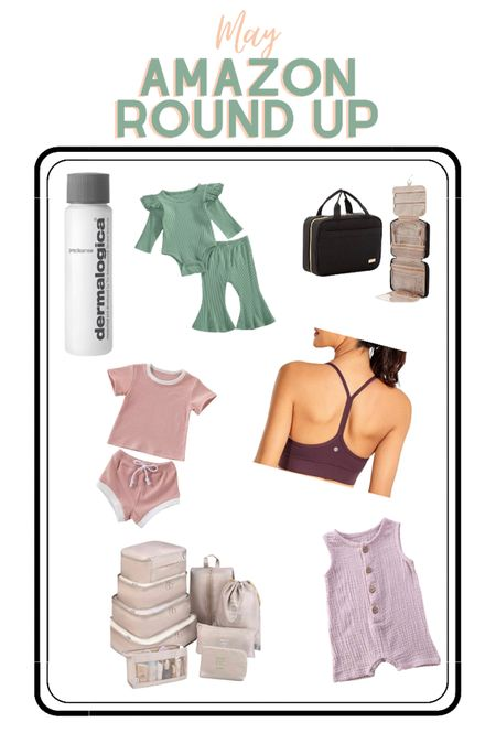 May Amazon Round Up! Lots of cute baby clothes for my best friends baby girl, travel bags, makeup remover, etc. http://liketk.it/3gCn1 @liketoknow.it #liketkit #LTKtravel #LTKunder50 #LTKbaby