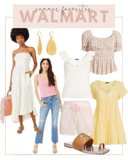 Rounding up my favorite summer essentials from Walmart! Loving all the summer dresses and tanks   #LTKsalealert #LTKunder100 #LTKstyletip