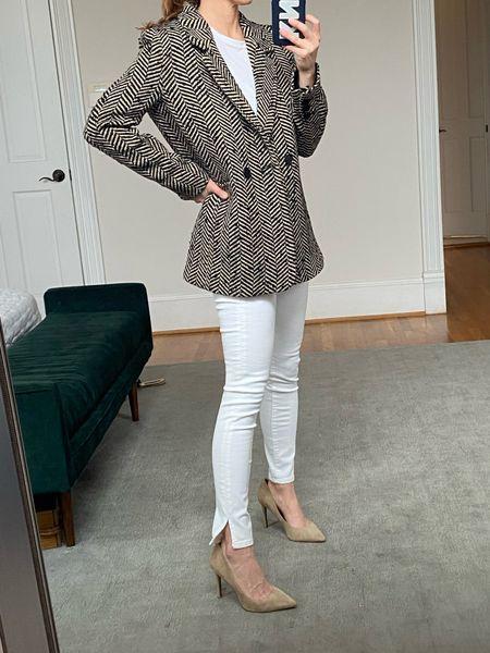 Blazer, outfits, work wear, Annie bing, shopbop  #LTKworkwear