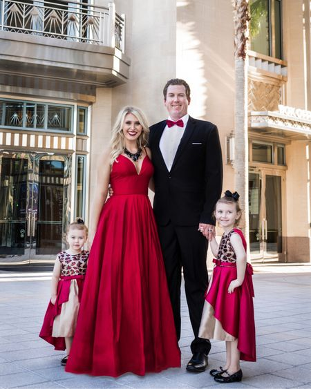 Resharing this formal outfit idea for family photos! The red color scheme is one of my favorites. Mixing patterns on the kids with solid with the adults is my go to!   #LTKfamily #LTKSeasonal #LTKHoliday