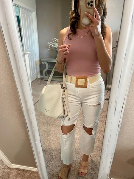 Jeans from Target, size up if you are between sized and top too  @liketoknow.it http://liketk.it/3eN1s #liketkit #LTKstyletip #LTKunder50 #LTKshoecrush