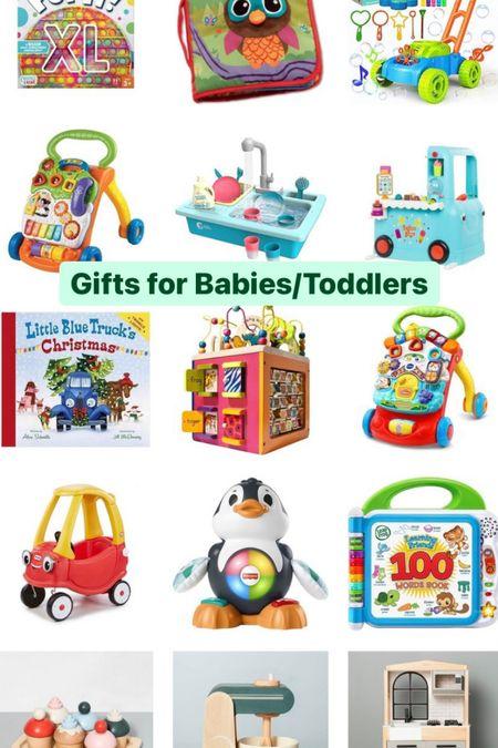 Gift guide for babies/Toddlers   #LTKbaby #LTKHoliday #LTKGiftGuide