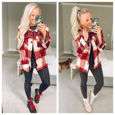 Walmart fashion, walmart style, shacket, fall fashion   #LTKSeasonal #LTKunder50 #LTKstyletip