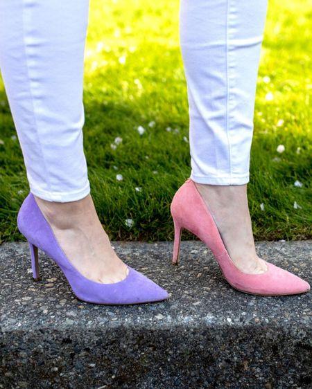 Pink pumps, spring heels, Sam Edelman pumps @liketoknow.it http://liketk.it/3dTZ3 #liketkit #LTKshoecrush #LTKstyletip #LTKunder100