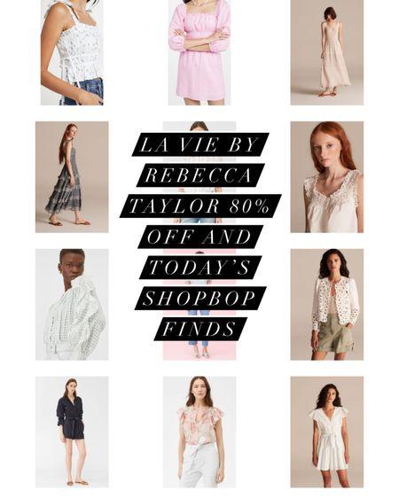 http://liketk.it/3iJWi @liketoknow.it #liketkit la vie by Rebecca Taylor up to 80% off and today's shopbop finds! #LTKunder100 #LTKsalealert