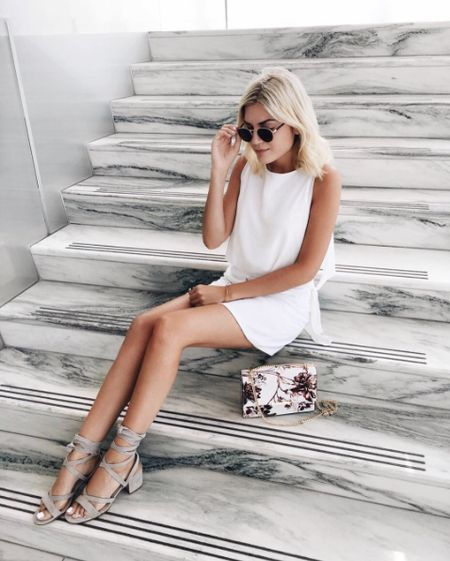 Sit down and take a break— you deserve it! Shop our Ellyn sandal at #Nordstrom and our Mara cocktail bag at #LordandTaylor http://liketk.it/2oUEi @liketoknow.it  #liketkit #WearITtoWork #Style #OOTD #Regram from @Emily_Luciano