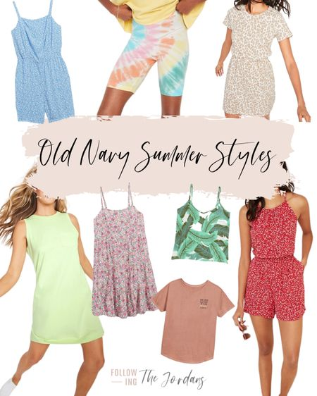 Old Navy Summer Styles! Loving their tees, dresses and rompers! http://liketk.it/3gbkr #liketkit @liketoknow.it #LTKsalealert #LTKunder50 #LTKstyle Follow me on the LIKEtoKNOW.it shopping app to get the product details for this look and others