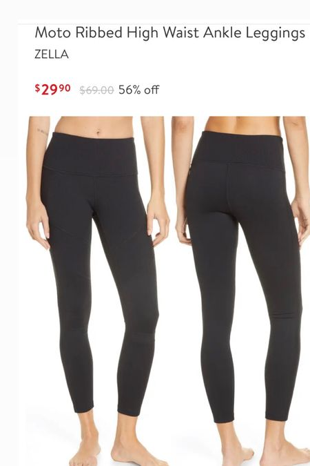 Four color options! Major Zella leggings sale. Fit tts   #LTKfit #LTKsalealert #LTKstyletip
