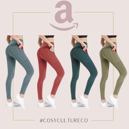 These are my favourite leggings and a very close dupe for LULULEMON   #LTKstyletip #LTKunder50 #LTKcurves