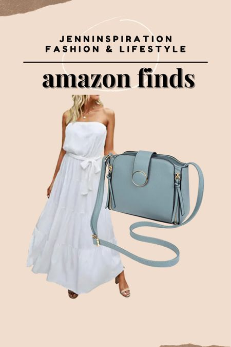 Best sellers on Amazon. Chic maxi dress and crossbody bag from Amazon!   #LTKSeasonal #LTKsalealert #LTKstyletip