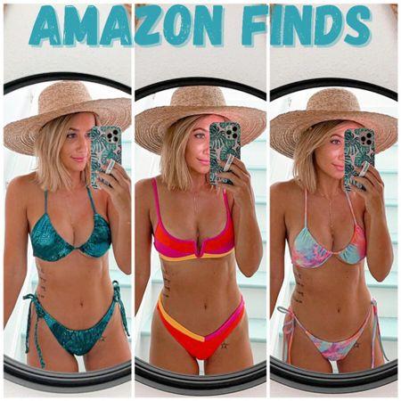 Amazon prime day swimsuits  Wearing size small   #liketkit http://liketk.it/3icmW @liketoknow.it #LTKunder50 #LTKsalealert #LTKswim #laurabeverlin