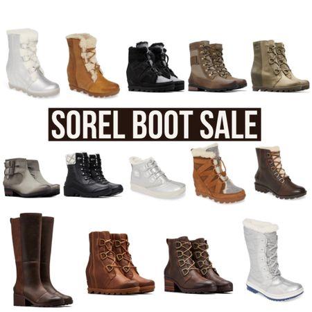 Sorel Boot Sale! Up to 50% off!  #sorel #sale #salealert #boots #bootseason #bootie #bootieseason #fallstyle #winterstyle #styleblogger #bloggerstyle #nordstromrack #mountainstyle #snow #snowshoe #LTKsalealert #LTKDay #LTKshoecrush @liketoknow.it #liketkit http://liketk.it/2SamB
