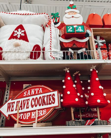More fun Christmas decorations from Michael's. They are having a huge sale with 50% off all Christmas decor. They have fun throw pillows like the gnome or snowflake. There's also mini Christmas trees for tabletop decor. Also fun signs and letters to santa mailboxes. All this stuff is on sale for under $50 and the best way to get your home in the holiday spirit. http://liketk.it/32YZq #liketkit @liketoknow.it #LTKsalealert #LTKhome #StayHomeWithLTK