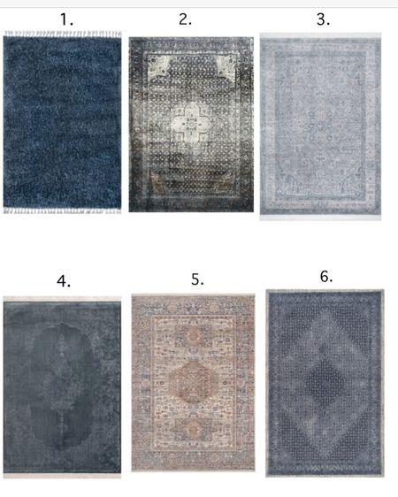 Blue rug roundup! #liketkit @liketoknow.it http://liketk.it/2KWns