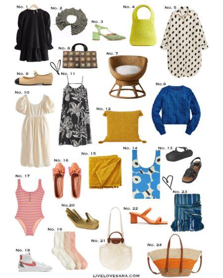 Weekly reads and finds.  http://liketk.it/3iW4w #liketkit @liketoknow.it #blackDress #summerDress #sandals #blueSweater #pinkFlats #whiteDress #otherStories #jCrew #swimsuit #summerBag
