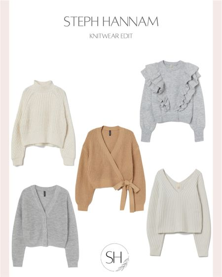 Gorgeous knits from H&M http://liketk.it/37XKl  cardigans, knitted jumpers and a beautiful wrap cardigan @liketoknow.it #liketkit @liketoknow.it.europe #LTKstyletip #LTKunder50 #LTKworkwear