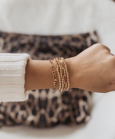 Favorite affordable bracelet stack atm. All 5 bracelets are under $15.  #amazon #amazonfinds #amazonfashionfinds #amazonfashion #amazonstyle #amazondeals #founditonamazon #amazoninfluencer #amazonshoes #stack #armcandy  Follow my shop on the @shop.LTK   #LTKwedding #LTKstyletip #LTKsalealert