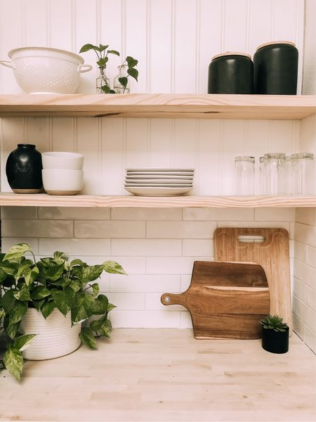 Adding splashes of black on the kitchen shelves with these new Project 62 canisters!   #LTKhome #LTKunder50 #LTKstyletip