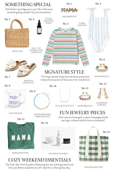 There's a verrry fun Mother's Day gift guide on the blog today! All of these items would make a wonderful gift for any of the special mama figures in your life, or even yourself! 😉 http://liketk.it/3e5rC #liketkit @liketoknow.it #LTKunder100 #LTKstyletip #LTKunder50