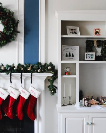 The stockings were hung by the chimney with care 🎅🏼 I don't know about you guys, but I think stocking stuffers are the most exciting part of holiday gifting! It's fun to find unique and tiny items for each person on my list — and I'm not just talking about candy 🤪 On the blog today, I'm sharing my favorite stocking stuffer ideas for all of the ladies in your life — think moms, daughters, sisters, BFFs ❤️ Link is in my profile ✨  . . . . . . .  http://liketk.it/33x8e @liketoknow.it @liketoknow.it.home #liketkit #LTKgiftspo #LTKhome #LTKunder50