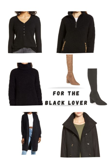 Black is a must have and I'm sharing these, as I love how cozy they all are also major sale on all! http://liketk.it/32ly5 #liketkit @liketoknow.it #LTKsalealert #LTKgiftspo #blackfridaydeals